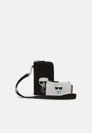IKONIK DOUBLE POUCH - Schoudertas - black