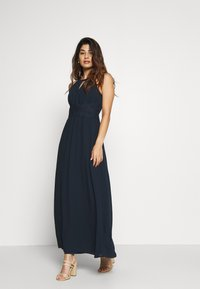 VILA PETITE - VIMILINA HALTERNECK DRESS - Occasion wear - total eclipse - 1