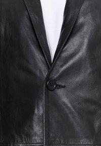 Serge Pariente - Kožená bunda - black - 5