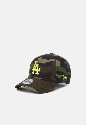 ALL OVER CAMO 9FORTY LOS ANGELES DODGER UNISEX - Kšiltovka - green