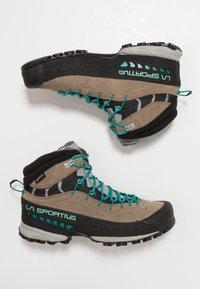 La Sportiva - TX4 MID WOMAN GTX - Hiking shoes - taupe/emerald - 1
