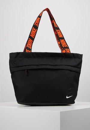 ADVANCED - Tote bag - black/white