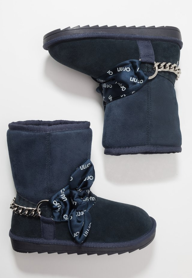 MARGOT - Classic ankle boots - blue