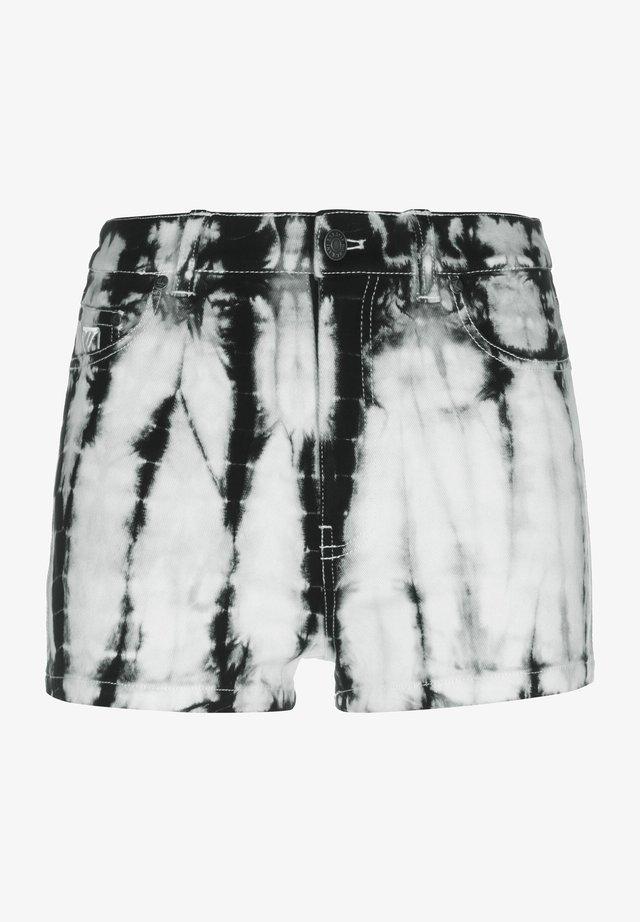Shorts di jeans - white