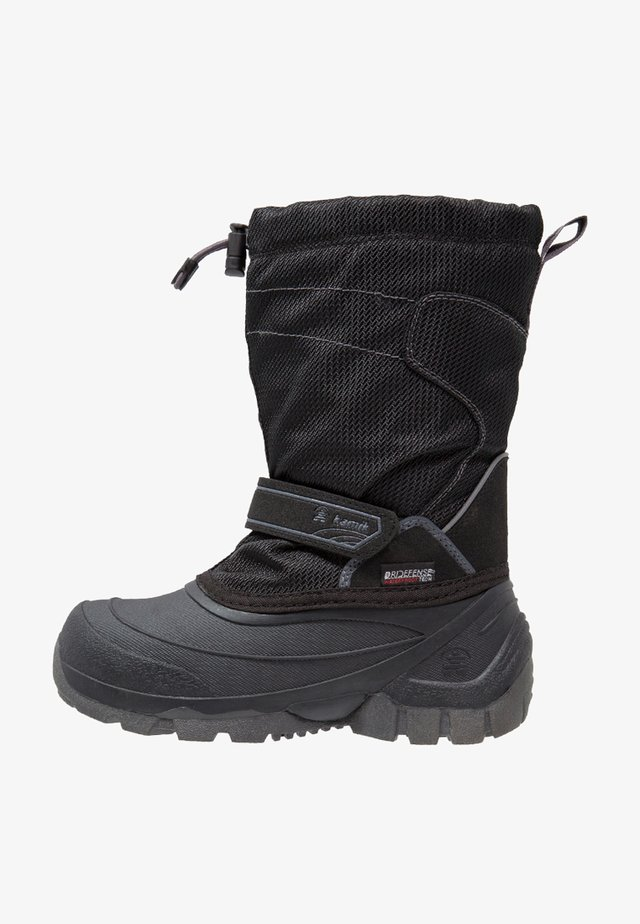 SNOWCOAST - Snowboots  - black