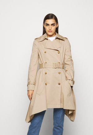 LONG JACKET - Trenchcoat - beige