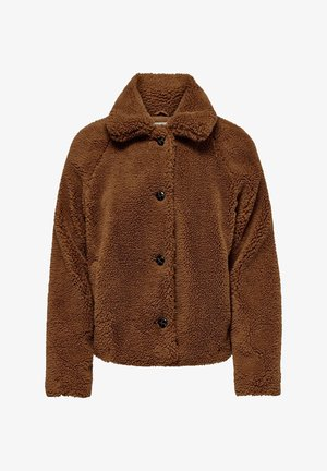 NOOS - Winter jacket - caramel coffee