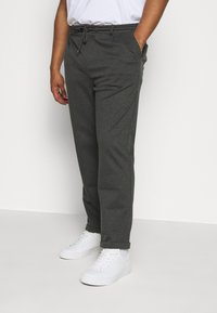 INDICODE JEANS - EBERLEINPLUS - Trousers - charcoal mix - 0
