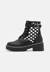 River Island - Lace-up ankle boots - black - 1