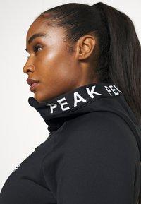 Peak Performance - RIDER ZIP HOOD - Fleece jacket - black - 3