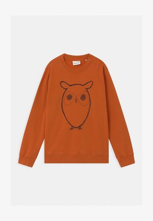 LOTUS OWL - Sweatshirt - orange
