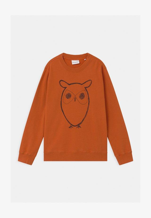 LOTUS OWL - Sweatshirt - orange