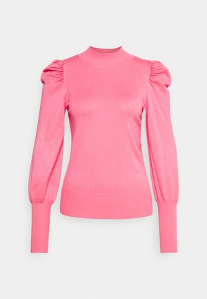 VOLUME SLEEVE JUMPER - Jumper - pink