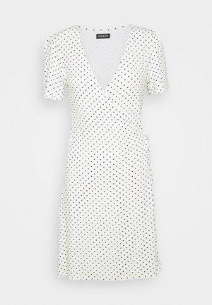 Vestido informal - off-white/black