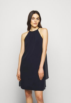 POLISHED CREPE - Cocktail dress / Party dress - lighthouse navy