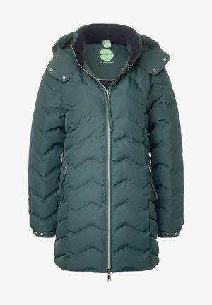 MIT MODERNER STEPPUNG - Winter jacket - grün