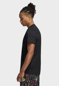 adidas Performance - HARDEN LOGO T-SHIRT - Print T-shirt - black - 2