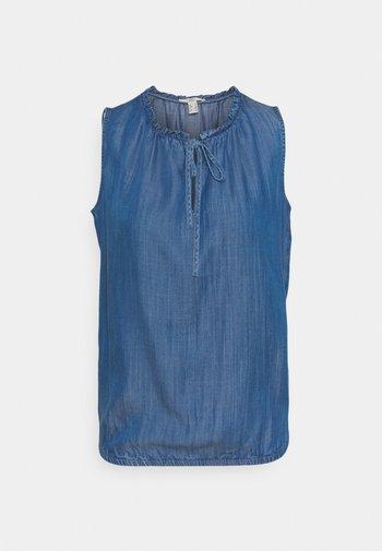 Blouse - blue medium wash