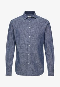 SLHSLIMMARK-WASHED - Formal shirt - dark sapphire