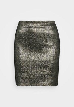 WILLOW SKIRT - Pencil skirt - gold