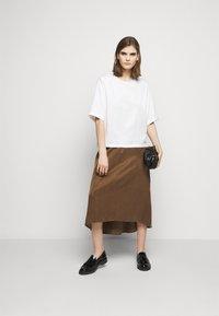 DRYKORN - RAHEL - A-line skirt - brown - 1