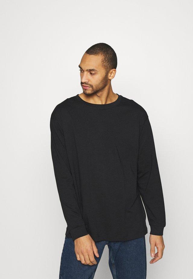UNISEX REGULAR FIT - T-shirt à manches longues - black