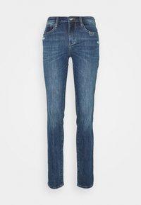 TOM TAILOR - ALEXA - Slim fit jeans - used mid stone blue denim - 6