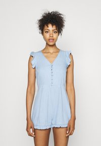 Missguided - BACKLESS - Overal - blue - 0
