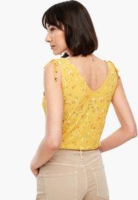 s.Oliver - TOP MIT FLORALEM PRINT - Blouse - yellow aop - 2