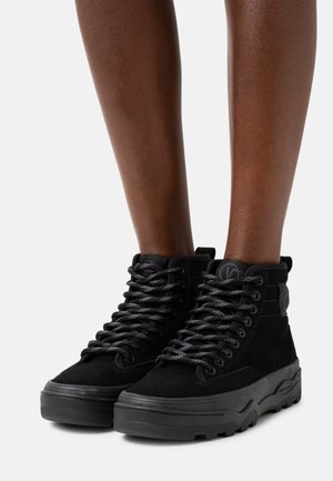 SENTRY  - High-top trainers - black