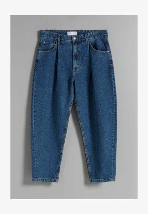 TAPERED - Džíny Straight Fit - dark blue