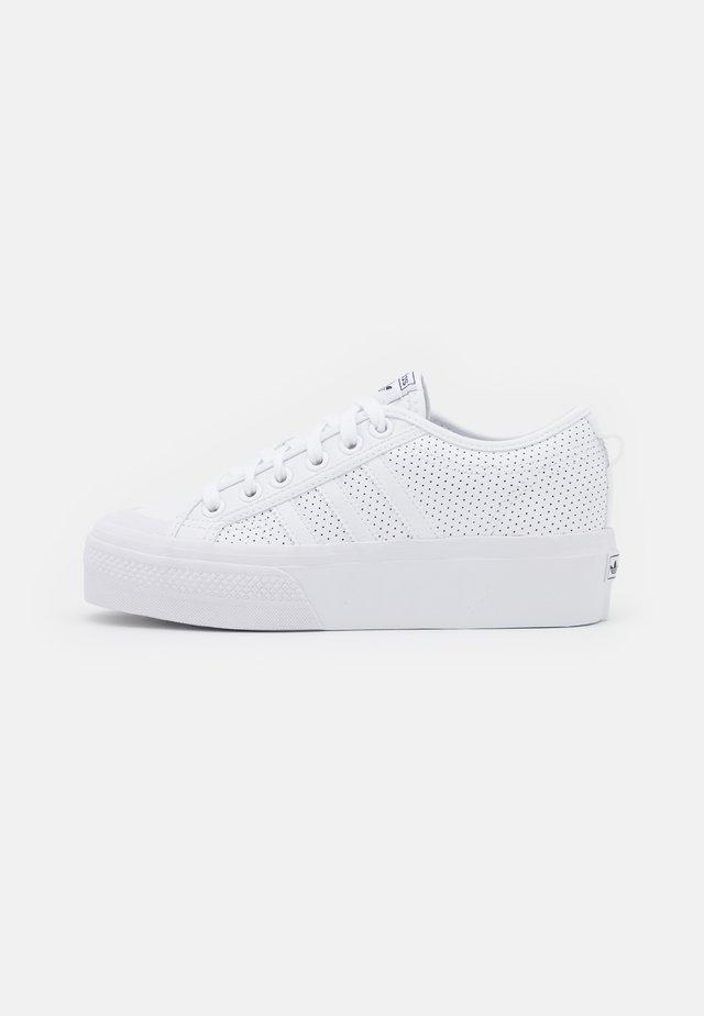 NIZZA PLATFORM - Sneakers laag - white