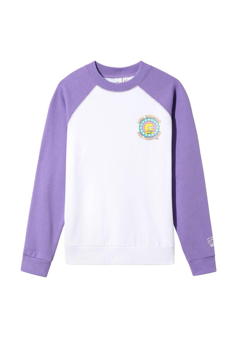 Vans - THE SIMPSONS LISA FLEECE - Sweatshirt - (the simpsons) lisa 4 prez
