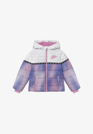 TAPING COLOR BLOCK - Zimní bunda - artic pink