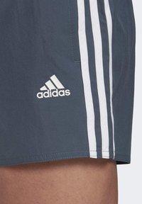adidas Performance - STRIPES CLX SWIM SHORTS - Bañador - blue - 6
