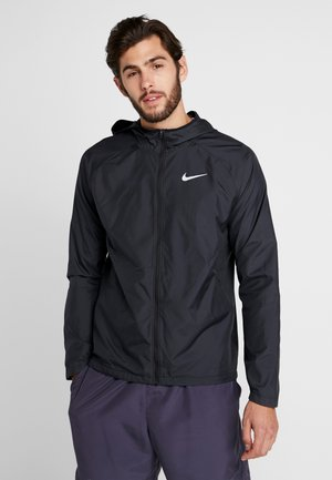 Training jacket - black/reflective silver