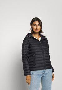 Tommy Hilfiger - ESSENTIAL - Down jacket - black - 0