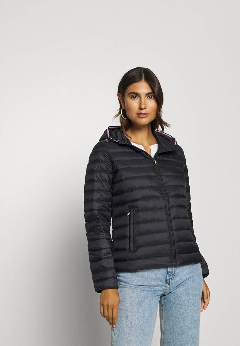 Tommy Hilfiger - ESSENTIAL - Down jacket - black