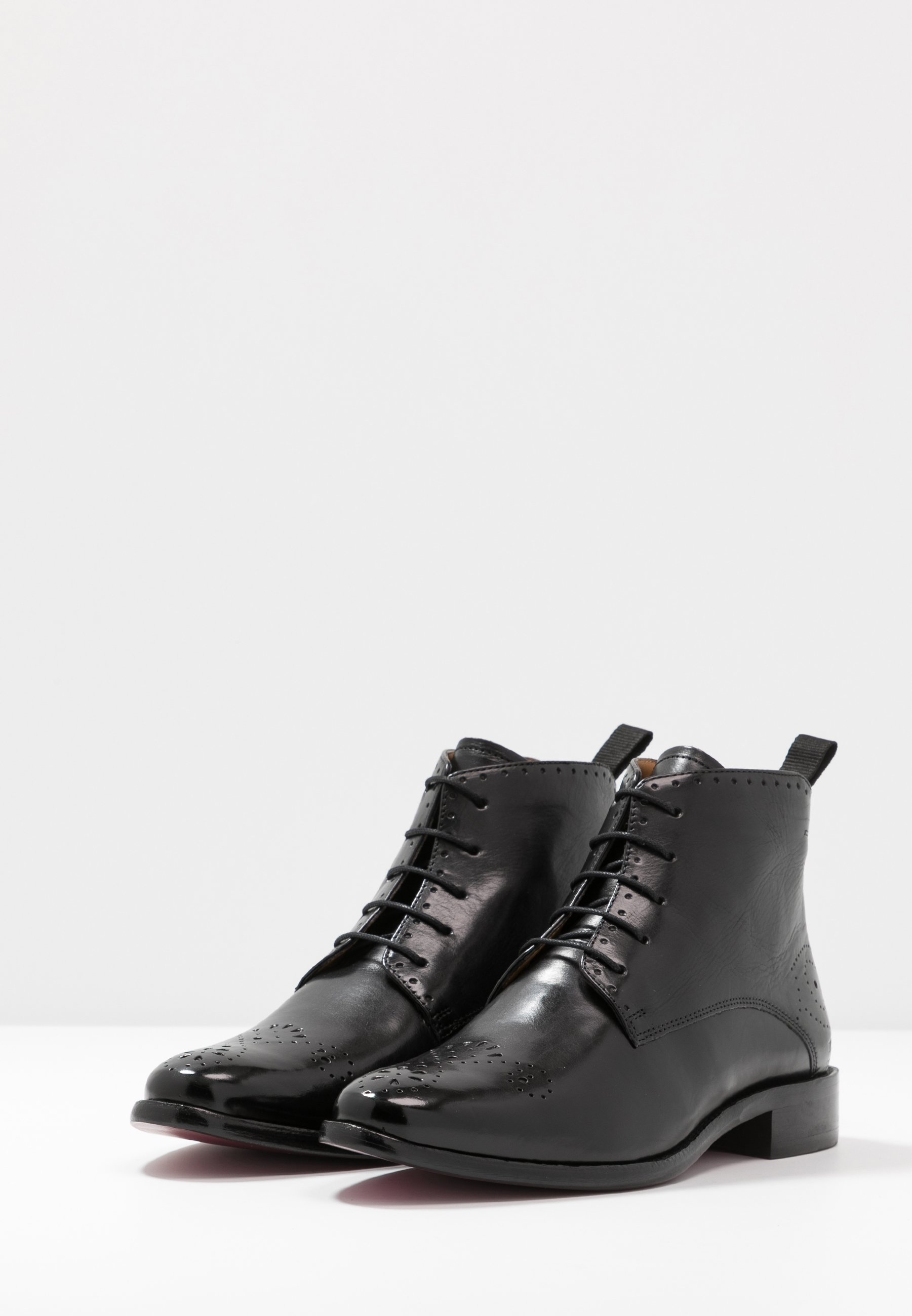 Melvin & Hamilton BETTY Ankle Boot black/braun