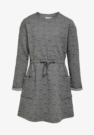 Jumper dress - medium grey melange