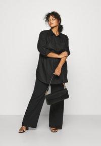 Kaffe Curve - CLONE SHIRT - Button-down blouse - black deep - 1