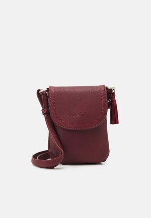 Across body bag - dark red