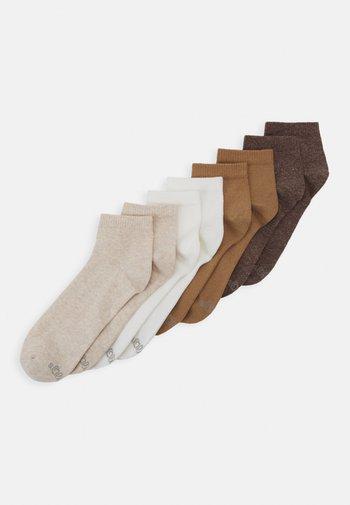 8PACK  - Socks - nature melange