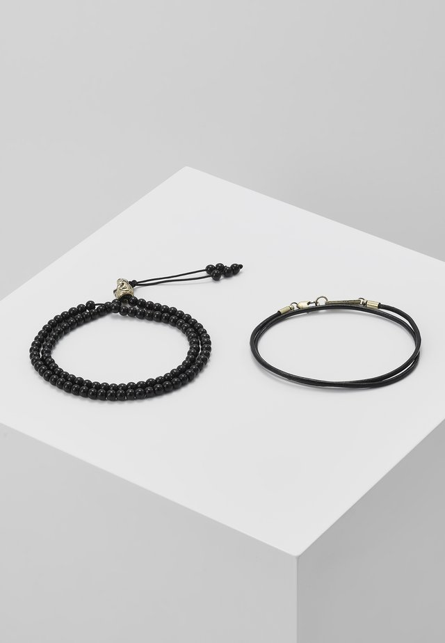 NOMINATION COMBO SET - Pulsera - black