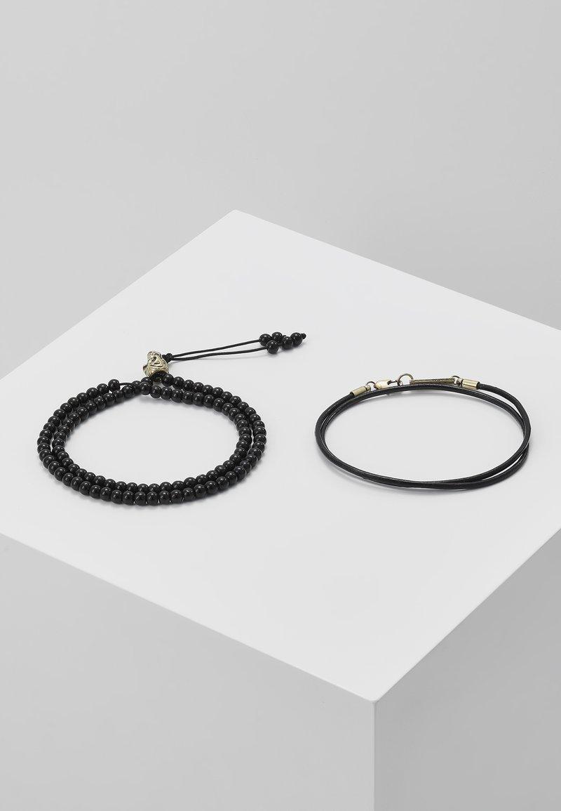 Icon Brand - NOMINATION COMBO SET - Bracelet - black