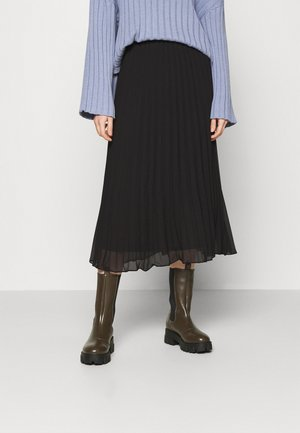 LAURA SKIRT - A-line skirt - black dark
