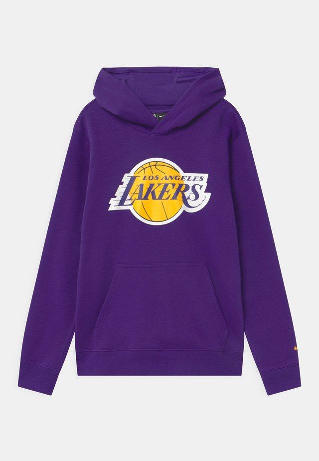 NBA LA LAKERS LOGO ESSENTIAL ICON UNISEX - Squadra - court purple
