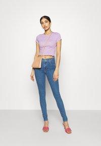 Even&Odd - Print T-shirt - lilac - 1
