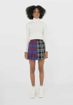 IM PATCHWORK - Pleated skirt - multi-coloured