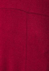 Banana Republic - VNECK COZY - Jumper dress - mulled cranberry - 7